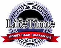 Lifetime Money Back Guarantee!